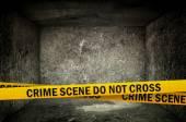Crime Scene Do Not Cross — Stock Photo
