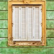 Old Baroque Window — Stock Photo #54963145