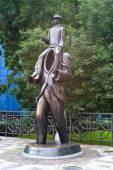 Franz Kafka Momument — Stock Photo