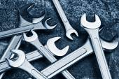 Wrench Jaw Spanner Tools — Stock Photo