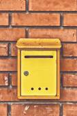 Old obsolete Post Mail Box — Stock Photo