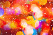 Colorful Abstract pattern winter season backgound — Stock Photo
