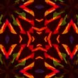 Flashing Kaleidoscope rays as abstract background — Stock Video #60339735