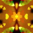 Flashing Kaleidoscope rays as abstract background — Stock Video #60649257