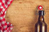 Empty Beer Bottle with Swing Flip Top Stopper — Foto de Stock