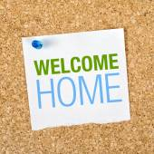 Welcome Home — Stock Photo