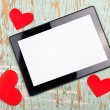 Valentine's Day Copy Space — Stock Photo #61377313
