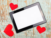 Valentine's Day Copy Space — Stock Photo