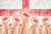 England Labor movement, workers union strike — Stock Photo