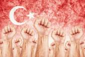 Turkey Labour movement, workers union strike — Stock Photo