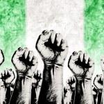 Nigeria Labor movement, workers union strike — Stock Photo #62596039