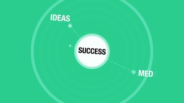 Business Success Animation — Vidéo