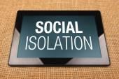 Izolacji społecznej — Zdjęcie stockowe