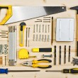 Assorted Woodwork and Carpentry or Construction Tools — Stock Photo #65141513