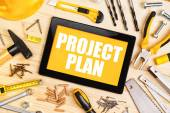 Project Plan For Home Redecoration — Stock Photo