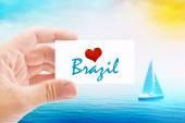 Vacanze estive sulla spiaggia in Brasile — Foto Stock