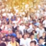Blur Defocus People Running Marathon — Stock Photo #69706241