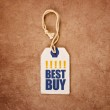 Vintage Price Tag Label with Best Buy Title — Stock Photo #70739801