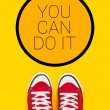 You Can Do It Motivational Message — Stock Photo #70882829