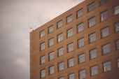 Generic Business Office Building Exterior Detail — Stock Photo