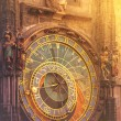 Astronomical Clock on Prague Old Town Square — Stock Photo #78306856