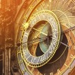 Astronomical Clock on Prague Old Town Square — Stock Photo #80273084