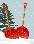 рождественские совки — Cтоковый вектор