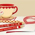 Valentine set — Stock Vector #64503885