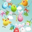 Easter decoration — Stock Vector #67581557