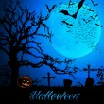 Halloween Background Template — Stock Vector