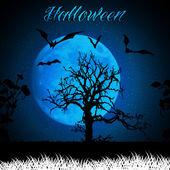 Fondo halloween. — Vector de stock