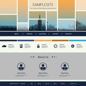 Website Design for Your Business — Vector de stock