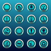 Eco Logos, Icons — Vetorial Stock
