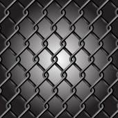 Chain Fence Vector — Stock Vector