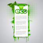 Eco Background — Stock Vector #73780295