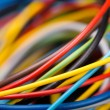 Colorful electrical cables — Stock Photo #52438943