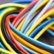 Colorful electrical cables — Stock Photo #52439071