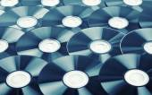 Disks background — Stock Photo