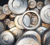 3d gears and cogwheels — Stock Photo