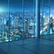 Office with glass wall — Stock Photo #58256493