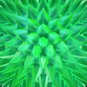 Shimmering green crystals — Foto Stock