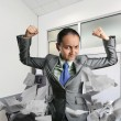 Strong woman in the office — Stock Photo #59286389