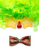 Clown face from objects — Stock Photo