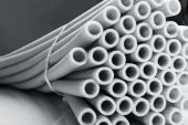 Heap of pipes — Stockfoto