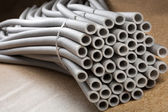Insulation for pipes — Stock Photo