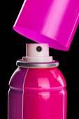 Pink spray aerosol — Stock Photo
