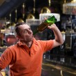 Adult man with alcohol — Stock Photo #70263261