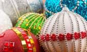 Colorful christmas balls — Stock Photo