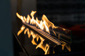 Exciting flame close up — Stock Photo