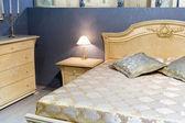 Classical interior of bedroom — Foto Stock